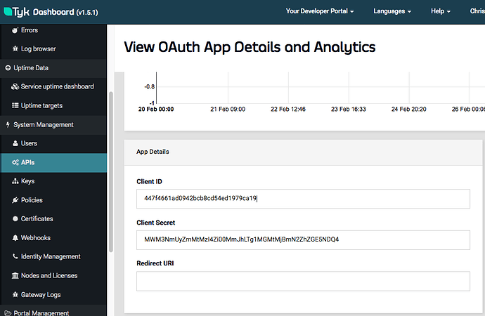 OAuth2 Client Credential - Setting up Tyk - Tyk Community Forum